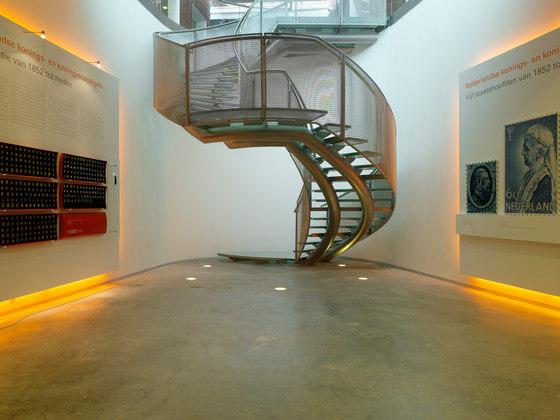 Helical Stairs Glass TWE-396 de EeStairs | Sistemas de escalera