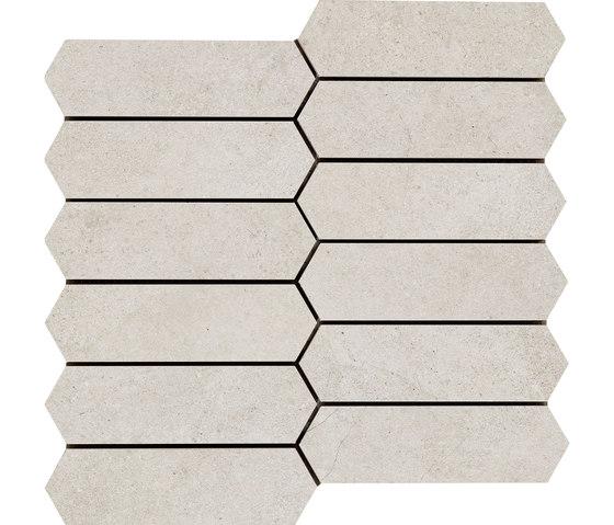 Mystone Kashmir mosaico bianco di Marazzi Group | Mosaici ceramica