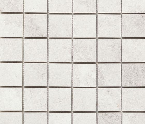 Mystone Quarzite mosaico ghiaccio by Marazzi Group | Ceramic mosaics
