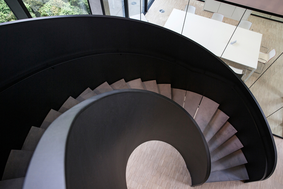 Helical Stairs Stone TWE-605 by EeStairs   Staircase systems