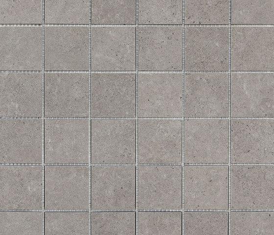 Mystone Silverstone mosaico antracite di Marazzi Group   Mosaici ceramica