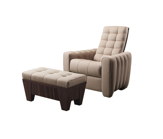 Gertrude reclining armchair by Promemoria | Armchairs