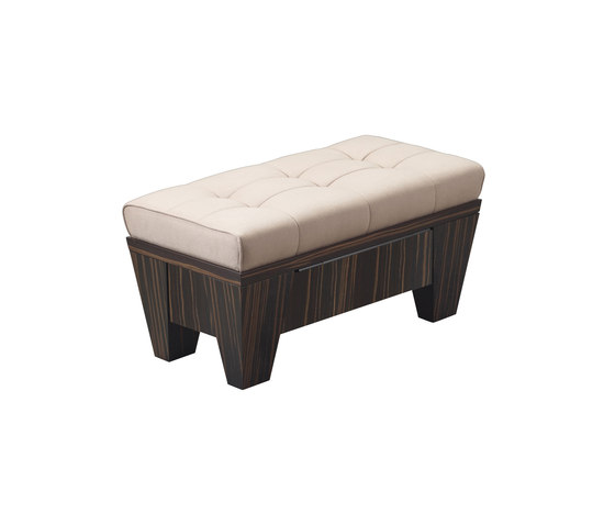 Gertrude container pouf by Promemoria | Storage boxes