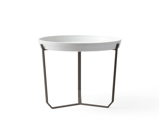 Porcelain Table brown de Karakter Copenhagen | Mesas auxiliares