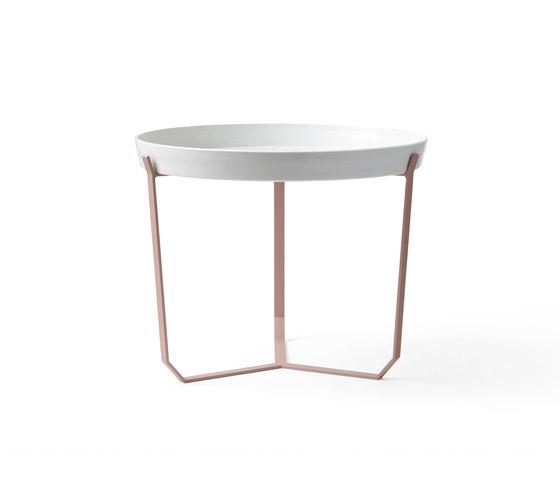 Porcelain Table nude von Karakter Copenhagen | Beistelltische