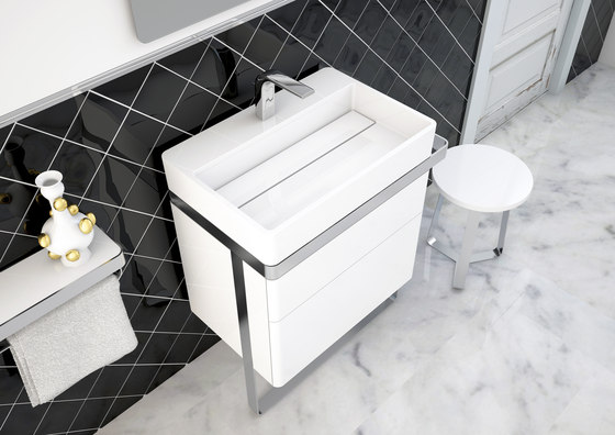 Structure Bathroom Furniture Set 6 by Inbani | Vanity units