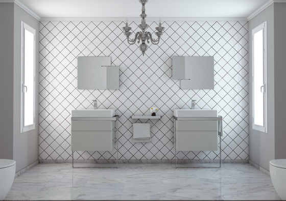 Structure Bathroom Furniture Set 8 by Inbani | Vanity units