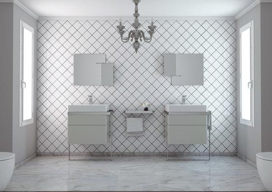 Structure Bathroom Furniture Set 8 von Inbani | Waschtischunterschränke