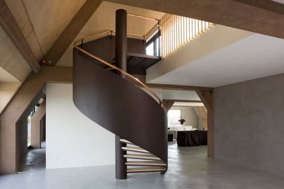 Spiral Stairs Steel TSE-204 by EeStairs | Staircase systems
