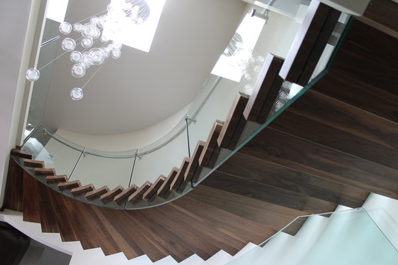 TransParancy 1-02 XL by EeStairs | Balustrades