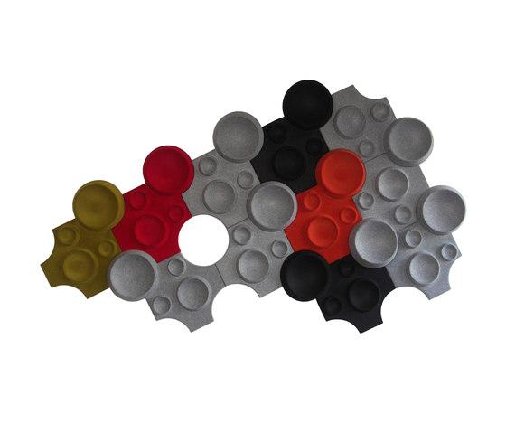 Decibel | Moon by Johanson Design | Sound absorbing wall systems