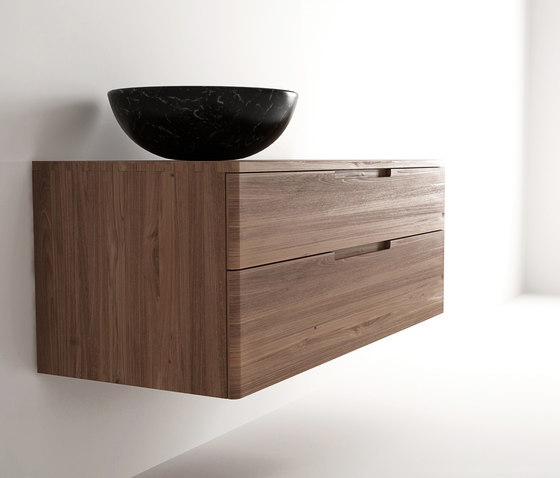Baker HANGING BASIN 2 DRAWERS di Karpenter | Armadietti parete