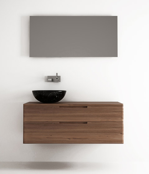 Baker HANGING BASIN 2 DRAWERS by Karpenter | Wall cabinets