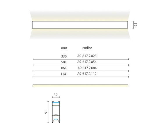 Fusion Pro/Pro Light wall de Aqlus | Iluminación general