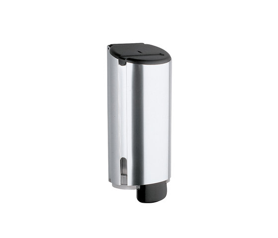 Hotellerie Wall-mounted soap dispenser, anodised aluminium by Inda | Soap dispensers