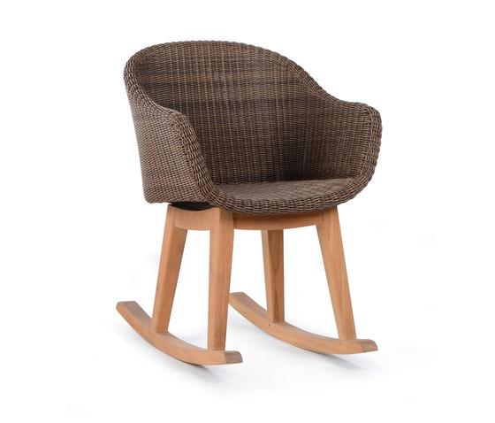 Matz Rocking Chair di Wintons Teak | Sedie da giardino