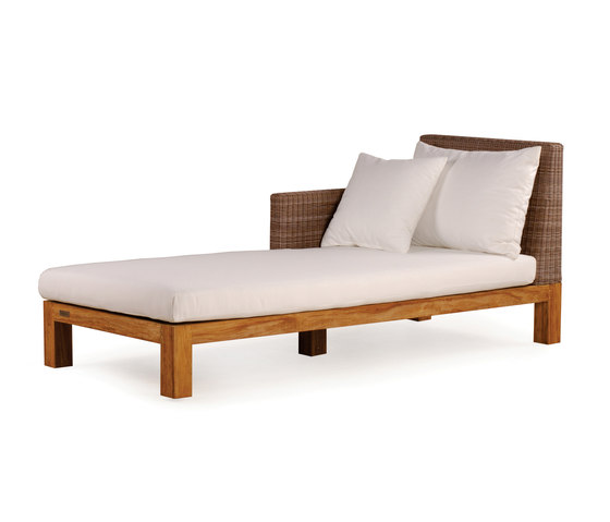 Pierson chaise longue left sun loungers from wintons for Chaise longue manufacturers