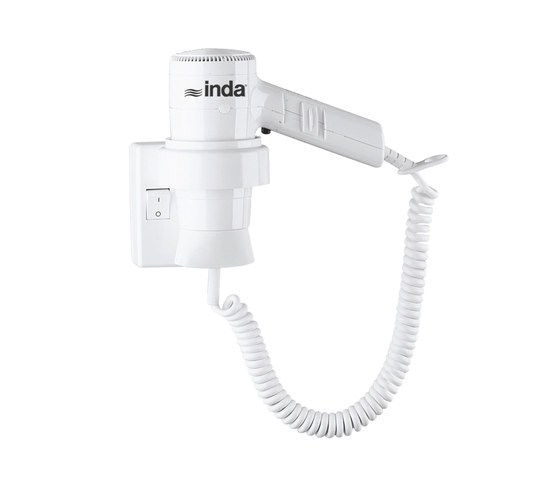 Hotellerie Hairdryer with safety thermostat by Inda | Hair dryers