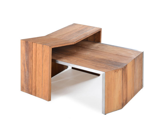 Salma Lumiere Coffee Table Set de Wintons Teak | Tables basses de jardin