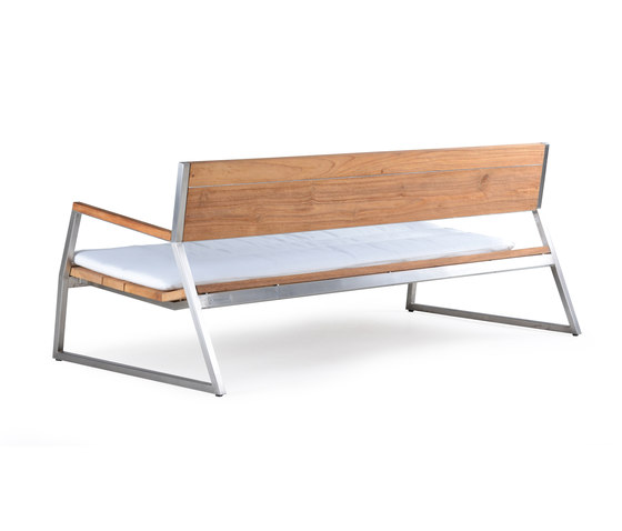 Salma Lumiere Low Bench by Wintons Teak   Benches