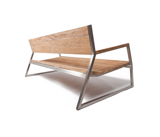 Salma Lumiere Low Bench von Wintons Teak | Benches