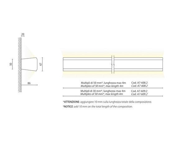 Espo' 2 system by Aqlus | Wall lights