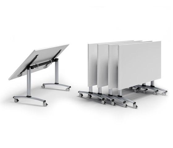 Flip-Top Tische von Quadrifoglio Group   Objekttische