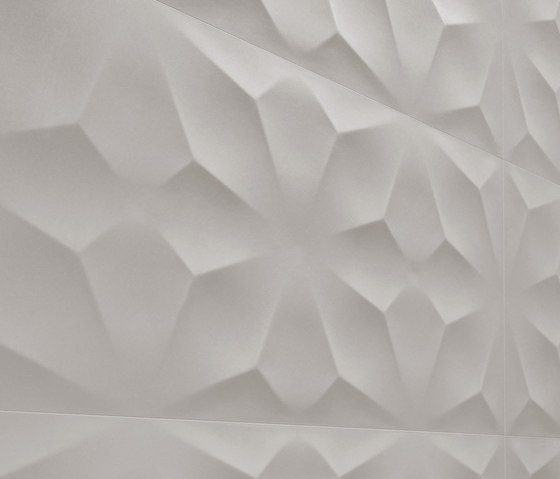3D Wall Diamond White von Atlas Concorde | Keramik Fliesen