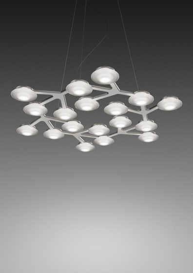 LED Net circle Suspension Lamp by Artemide | General lighting