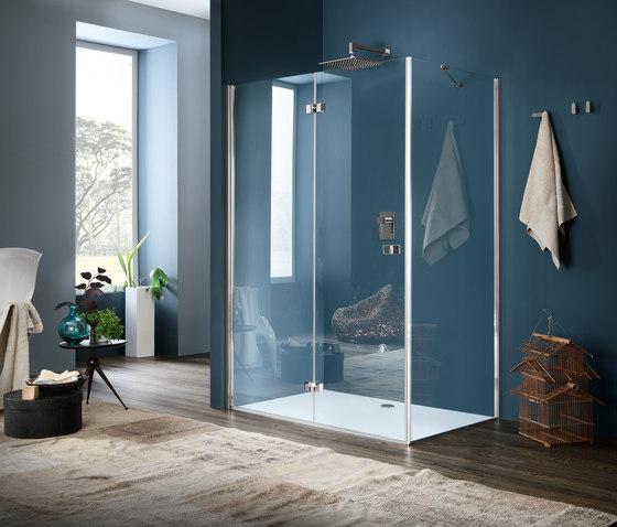 sim parete con porta a soffietto divisori doccia inda. Black Bedroom Furniture Sets. Home Design Ideas