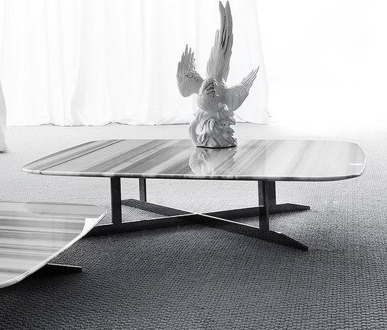 Nord White & Black von Erba Italia | Coffee tables