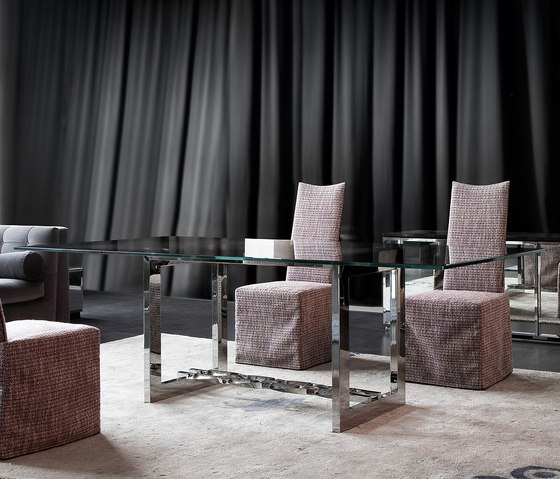 Nord vetro by Erba Italia | Dining tables