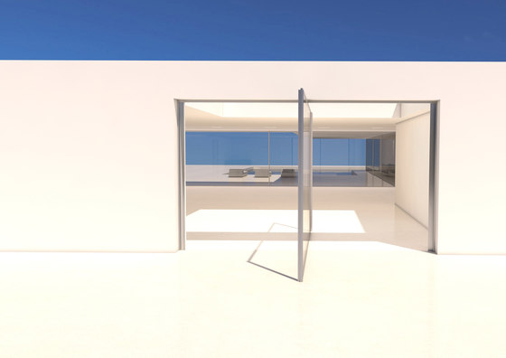 Pivot opening by OTIIMA | Patio doors