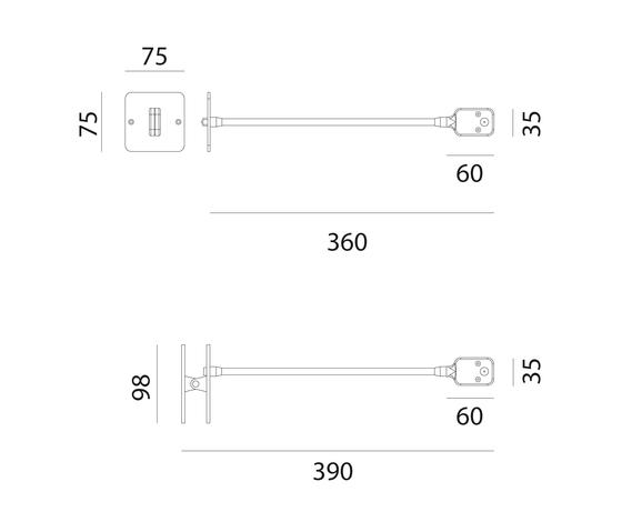 Skopos Applique de Artemide | Éclairage général