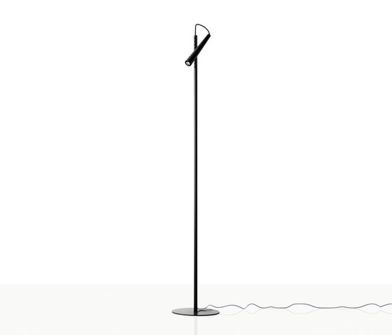 Magneto floor black by Foscarini | Reading lights