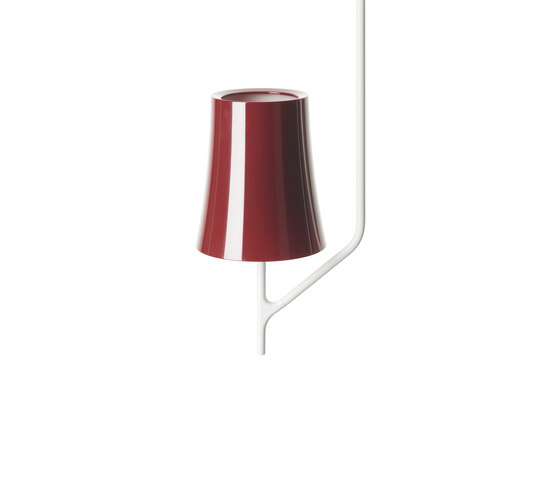 Birdie 1 ceiling amaranth by Foscarini | General lighting