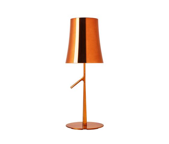 Birdie Metal table big copper de Foscarini   Luminaires de table