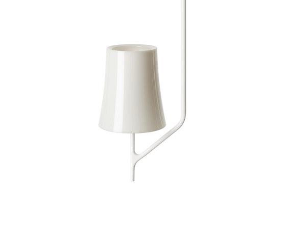 Birdie 1 ceiling white by Foscarini | General lighting