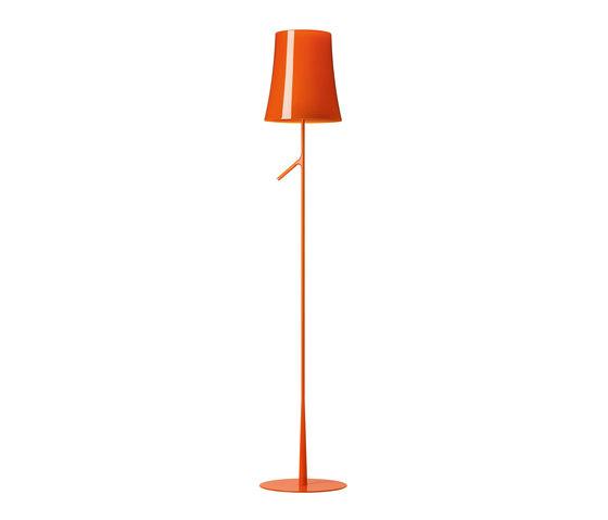 Birdie floor orange de Foscarini | Luminaires sur pied