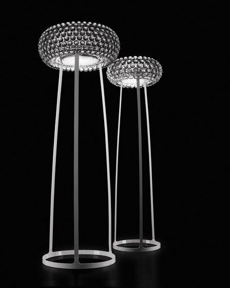 Caboche floor large/medium transparent by Foscarini | Free-standing lights