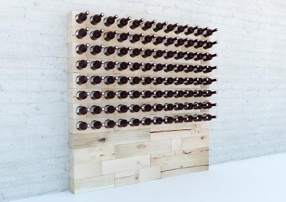 CRAFTWAND® - wine rack design de Craftwand | Étagères