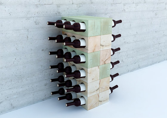 CRAFTWAND® - wine rack design di Craftwand | Portabottiglie