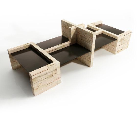CRAFTWAND® - office table divider design di Craftwand | Schermi divisori