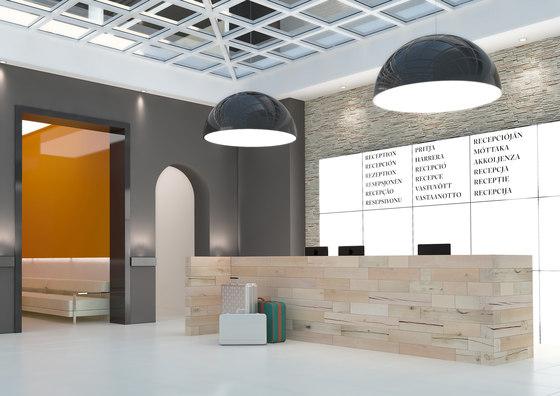 CRAFTWAND® - reception desk design by Craftwand | Reception desks
