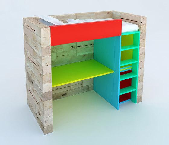 CRAFTWAND® - cabin bed design de Craftwand   Lits enfant
