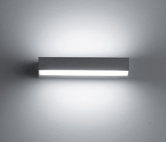 Look wall mounted bi emission L 290mm by Simes | Wall lights
