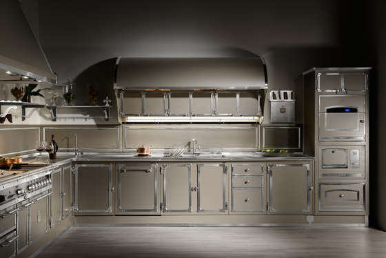 Champagne touch Küche von Officine Gullo | Einbauküchen
