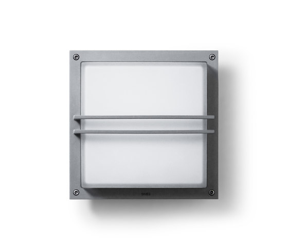 Zen square 300mm with grill by Simes | Wall lights