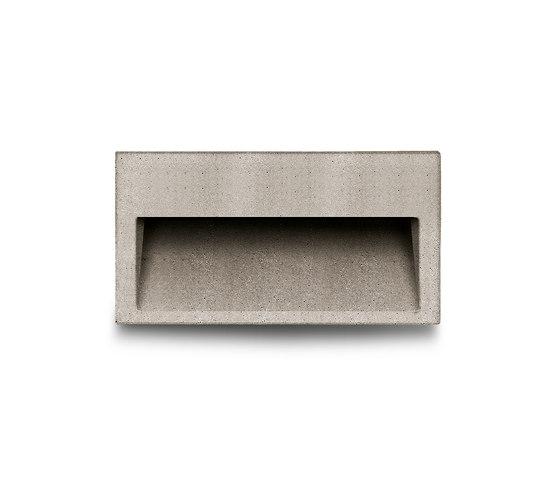 Concrete by Simes up-light wall applique mono