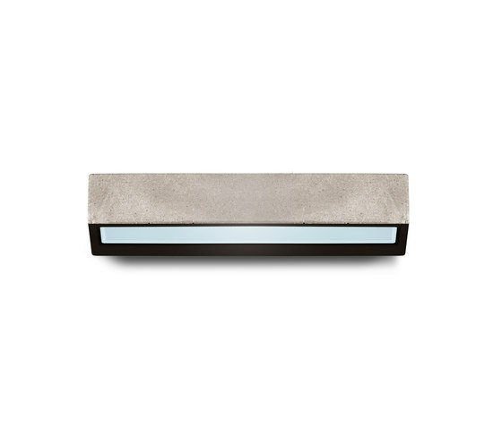 Concrete applique mono emission by Simes | Outdoor wall lights